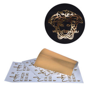 Custom Gold Foil Stickers