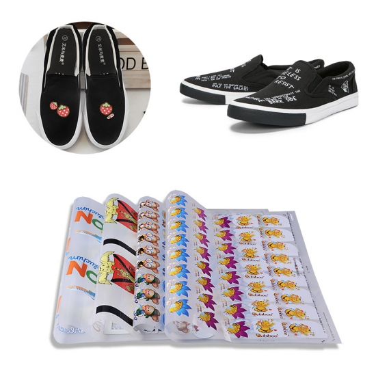 canvas shoes tranfsfer