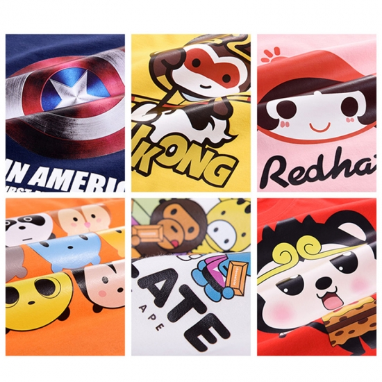 Offset Printing Stickers For Children's Wear